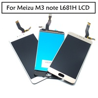 100 Original Full For Meizu M3 Noto L681H LCD Display Digitizer Touch Screen Replacement Accessories Cellphone