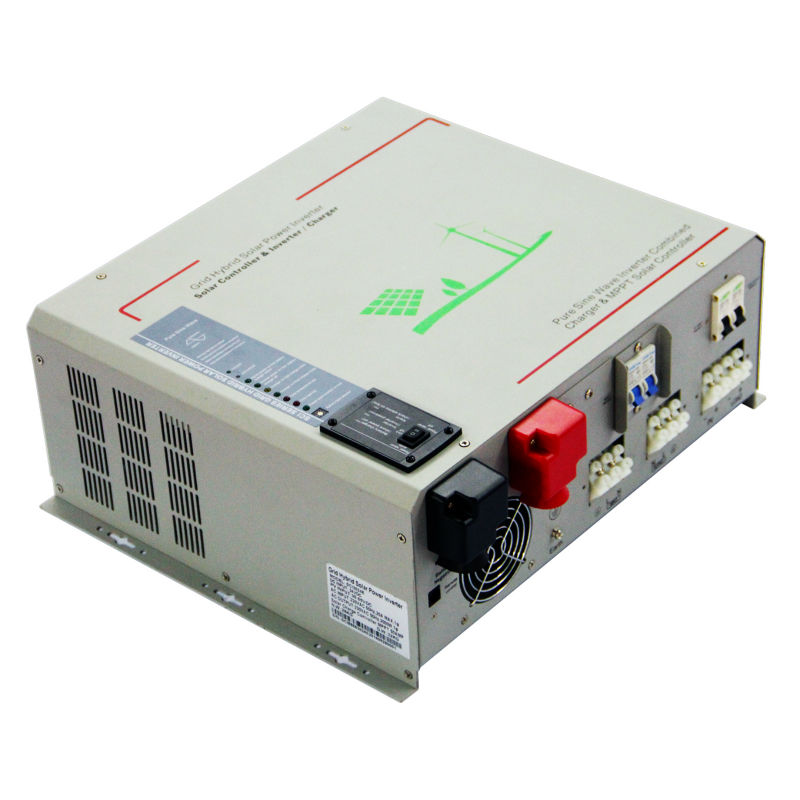 MAYLAR@ 24V 1000W Peak Power 2000W Pure Sine Wave Solar Inverter Built-in 40A MPPT Controller With Comminication,LCD Display decen 12v 2000w peak power 4000w pure sine wave solar inverter built in 40a mppt controller with communication lcd display