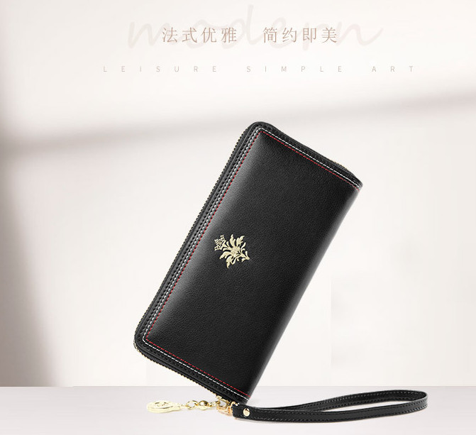 2 new fashion tide soft leather womens wallet simple temperament womens casual  BDI19032603 190408 lao2 new fashion tide soft leather womens wallet simple temperament womens casual  BDI19032603 190408 lao