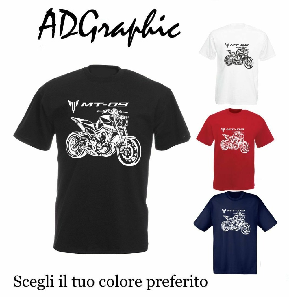 Cotton Mt09 Mt 09 T Shirt Japan Street Motorcycle Mt 09 Men 2019 Summer 100% Cotton Casual Short Sleeve Tops Marley T Shirts-in T-Shirts from Men's Clothing