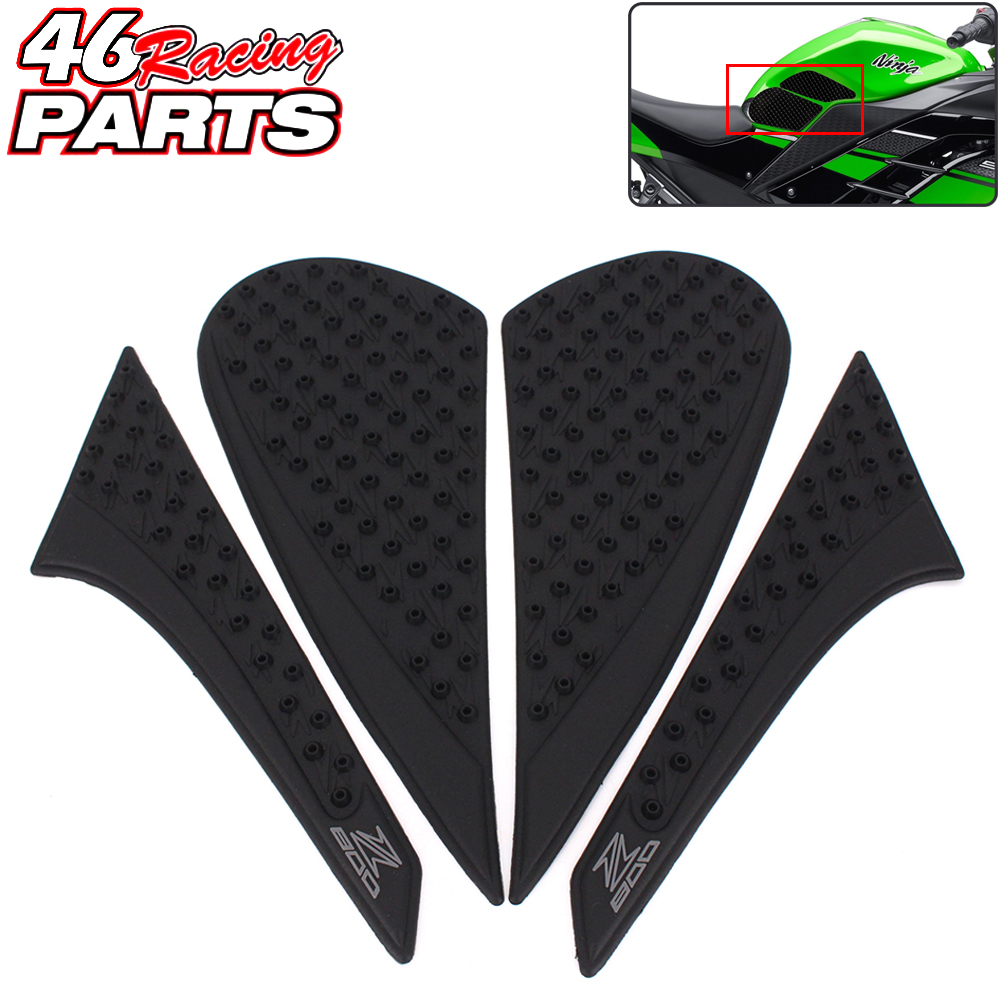 CK CATTLE KING Motorcycle Tank Pad/grips Protector Sticker /Protective Pad For Kawasaki Z800 2012 2013 2014 2015 2016