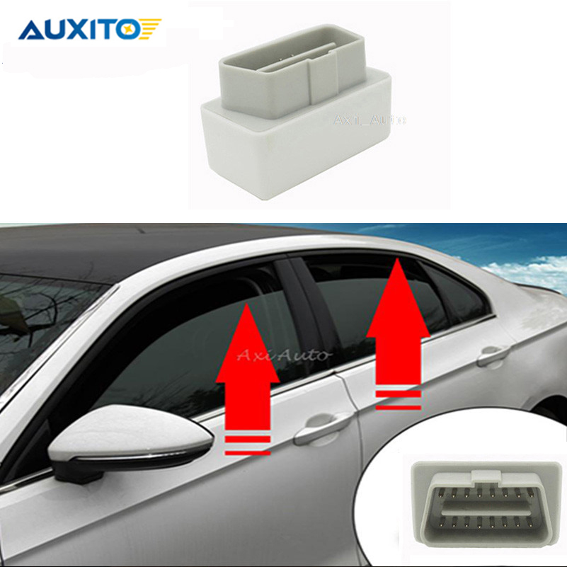 For VW Passat B7 <font><b>CC</b></font> OBD 2012-<font><b>2015</b></font> Canbus AUTO Folding Window Glass Closer Side View Mirror Closing Module System No Error image
