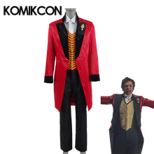 The Greatest Showman P. T. Barnum Men Cosplay Costumes Movie Adults Full Set Performance Uniform Halloween Party Stage Outfit