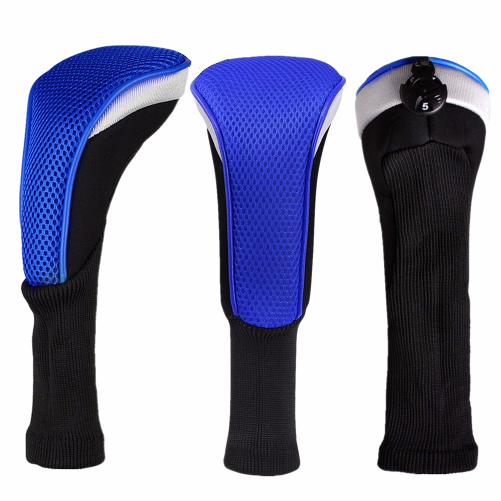 Fairway Wood Headcovers No.3 Covers 1 Pc Interchangeable Putter Long Golf Wood Headcover Deluxe Golf Iron Outdoor Sports