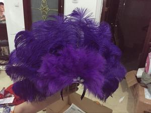Image 5 - Accessori Di Moda squisita piume del copricapo Delicato di ballo di ballo latino Samba mostra accessori