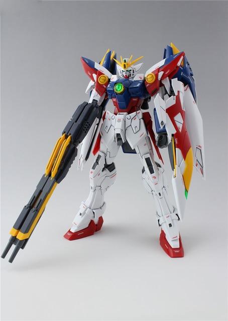 Daban Model MG 1/100 Wing Gundam Zero EW Action Figure Endless Waltz XXXG-00W0 Puzzle assembled model 18cm Robot kids Puzzle toy 3