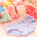 6 unidades/pacote Meninas Cueca bragas Calcinhas de Algodão Para Meninas Crianças Cuecas Crianças Cuecas Curtas calcinha infantil de menina