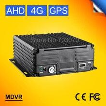 Хорошее качество H.264 720 P HD автомобильная видеокамера-регистратор с креплением к Регистраторы с gps трекер I/O сигнализация видеонаблюдение 4 аппарат не привязан к оператору сотовой связи 4CH HDD автомобильный мобильный видеорегистратор с ahd-камерой
