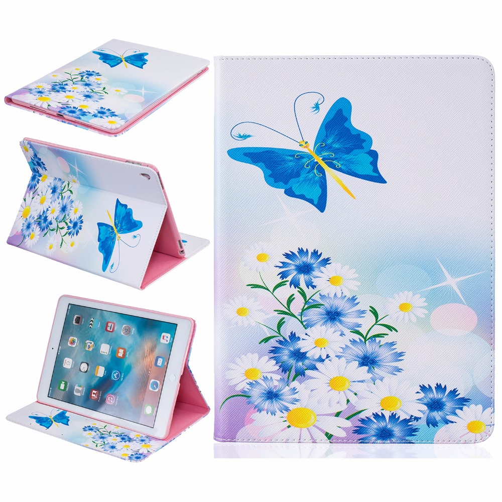 PU Leather Stand Case For Apple iPad Pro 9.7 Case Protective Cover For iPad Pro 9.7 inch Cover Tablet Case cute love cats printed pattern flip stand protective pu leather business book cover case for apple ipad pro 12 9 inch tablet