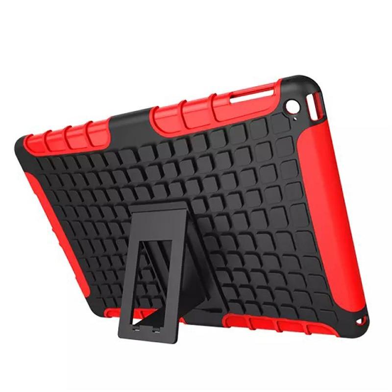 Anti-Knock Case for apple iPad Air 2 9.7inch,Hybrid TPU+PU Armor Kickstand Case for iPad Air 2 Flip Cover for iPad 6+Stylus Pen синий slim robot armor kickstand ударопрочный жесткий корпус из прочной резины для vivo x9plus