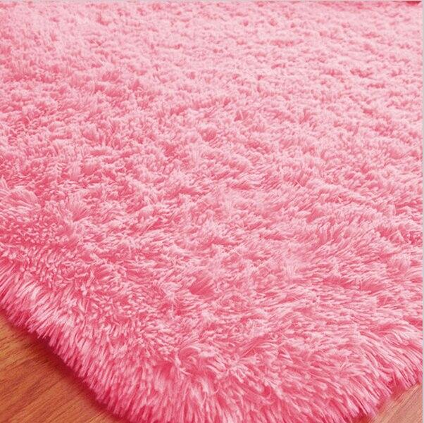 70*120cm Black Carpet for Living Room Washable Super Cute Rug ...