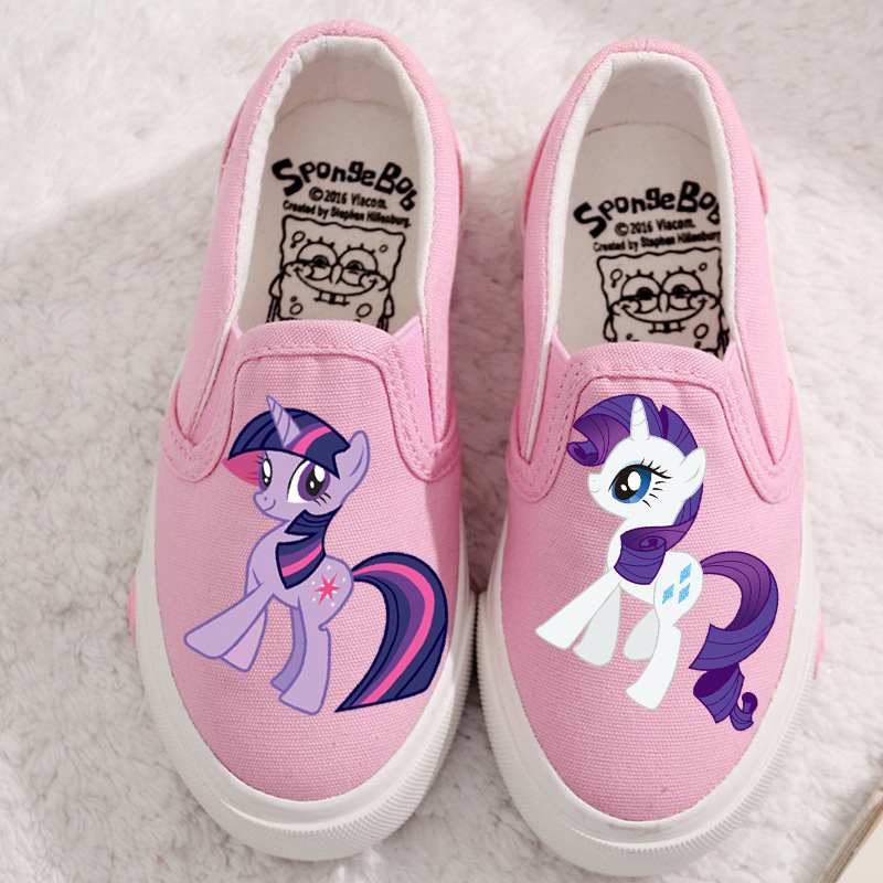 PIG Canvas Children Shoes Sport Breathable Boys Sneakers Brand Kids Shoes for Girls Jeans Denim Casual Child Flat Boots 23-37