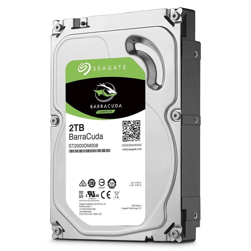 Seagate 2 TO Desktop DISQUE DUR Interne disque dur Lecteur D'origine 3.5 ''2 TB 7200 RPM SATA 6 Gb/s Disque Dur pour Ordinateur ST2000DM008 - 4