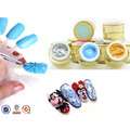 12colors/set 3D Emboss UV Gel Soak Off UV/LED Sculpture Nail Gel Acrylic Nail Art Tips by GDCOCO