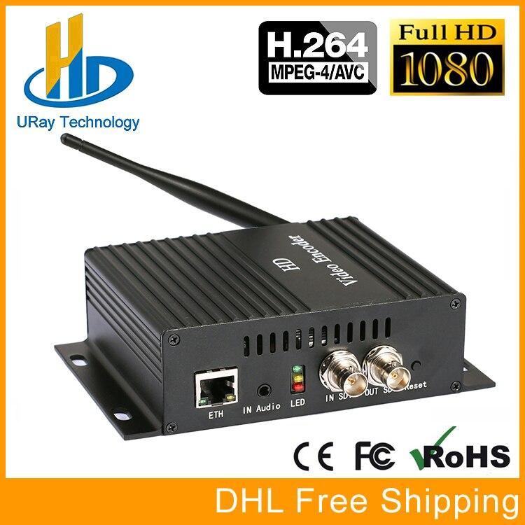 MPEG4 H.264 /AVC Wireless SDI To LAN Encoder SDI Over WiFI Streaming Encoder SDI Transmitter For Live Streaming, IPTV fgl40n120and to 264