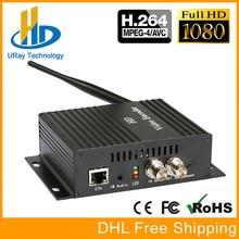 MPEG4 H.264/AVC Codificador SDI SDI Para LAN Sem Fio Sobre Wi-fi De Streaming Codificador SDI Transmissor Para Streaming Ao Vivo, IPTV