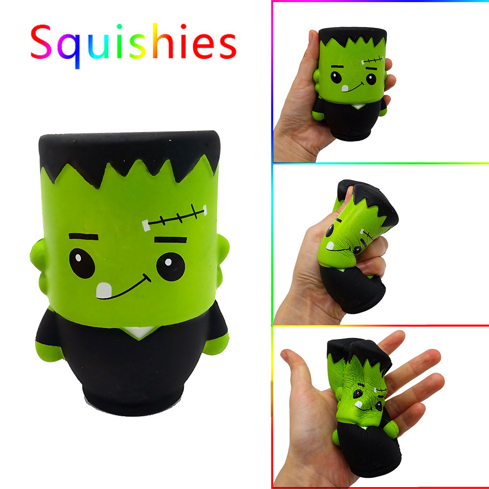 Halloween Wizard Doll Squishy Scented Squishies Slow Rising Kids Toys Stress Relief Toy Mini Squishy Squeeze Mochi Squishy 2019