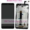 Preto/branco/ouro + tp lcd + quadro para xiaomi redmi note3 pro note 3 pro/snapdragon 650 display lcd + touch screen com ferramentas