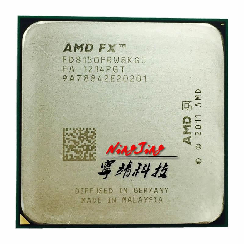 AMD-procesador de CPU serie FX FX-8150 FX 8150 FX8150, ocho núcleos, FD8150FRW8KGU, Socket AM3 +