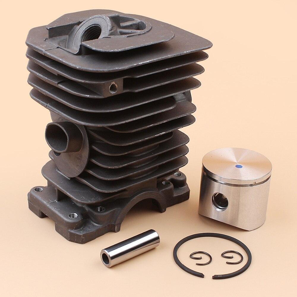 Tools : 40MM BIG BORE Cylinder Piston Ring Engine Kit Fit Husqvarna 141 142 136 137 Jonsered 2040 CS2040 Chainsaw Motor Parts