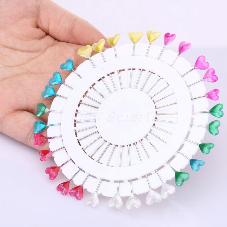 dophee 30PCS Aranyos vegyes színek Szívfejű csapok Csipeszes kerek - Művészet, kézművesség és varrás