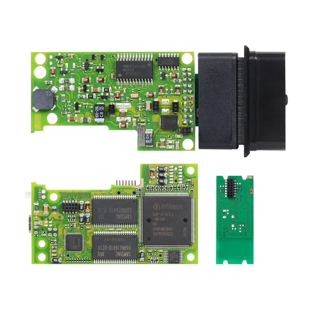 Image 3 - 10pcs VAS5054 ODIS V4.3.3 keygen Full Chip Original OKI Auto OBD2 Diagnostic Tool VAS 5054A Bluetooth code reader VAS 5054 on