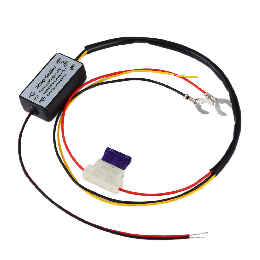 DRL Controller Auto Car LED Daytime Running Light Relay Harness Dimmer DC 12V Car External Light Control