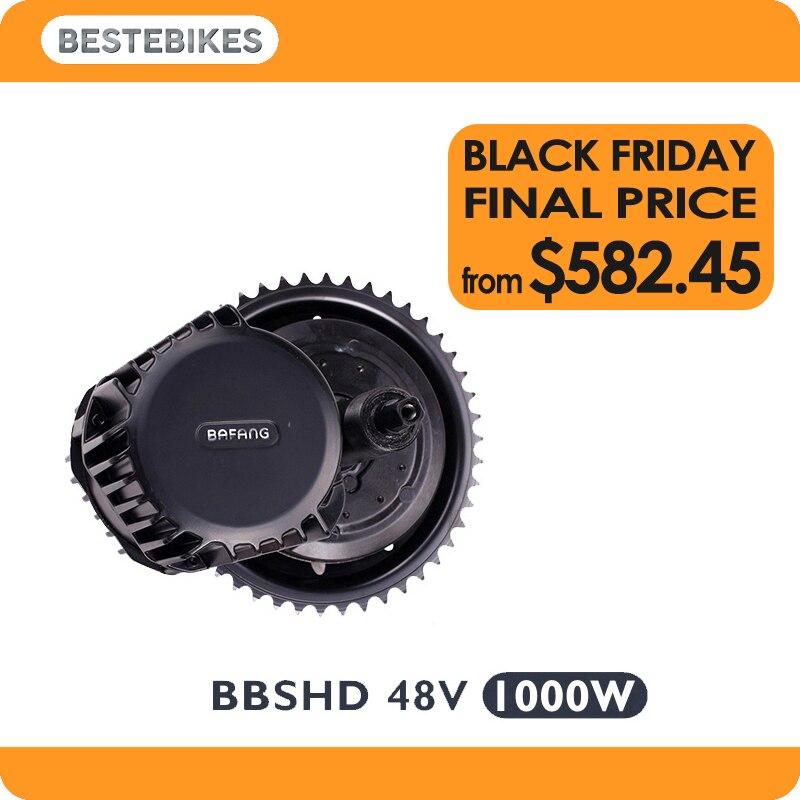 Bafang BBSHD 48 v 1000 w motore bbs03 ebike bicicletta elettrica motore velo electrique kit bici elettrica DEGLI STATI UNITI Russia CA AUS NZ NO tax