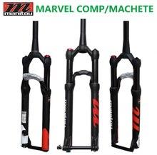 Horquilla Manitou bicicleta Marvel Comp Machete 27,5 29er aire tenedores tamaño montaña MTB bicicleta tenedor suspensión PK a SR SUNTOUR 2018