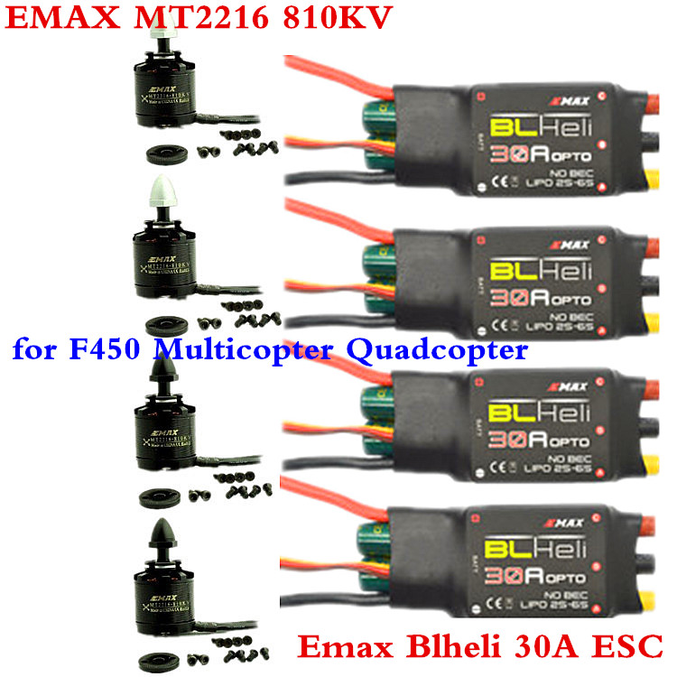 4PCS EMAX MT2216 810KV 2PCSCW 2PCSCCW Brushless Motor 4PCS Emax Blheli 30A Brushless ESC for F450 s ae01 alicdn com kf htb18pyqkxxxxxcoxfxxq6x  at crackthecode.co