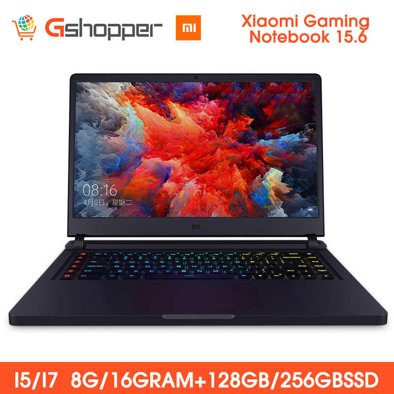 Xiaomi Mi Gaming Notebook 15.6 FHD Intel Core 8G/16G 256GB SSD 8GB DDR4 Windows 10 Quad-core NVIDIA GeForce GTX 1060 I7-7700HQ