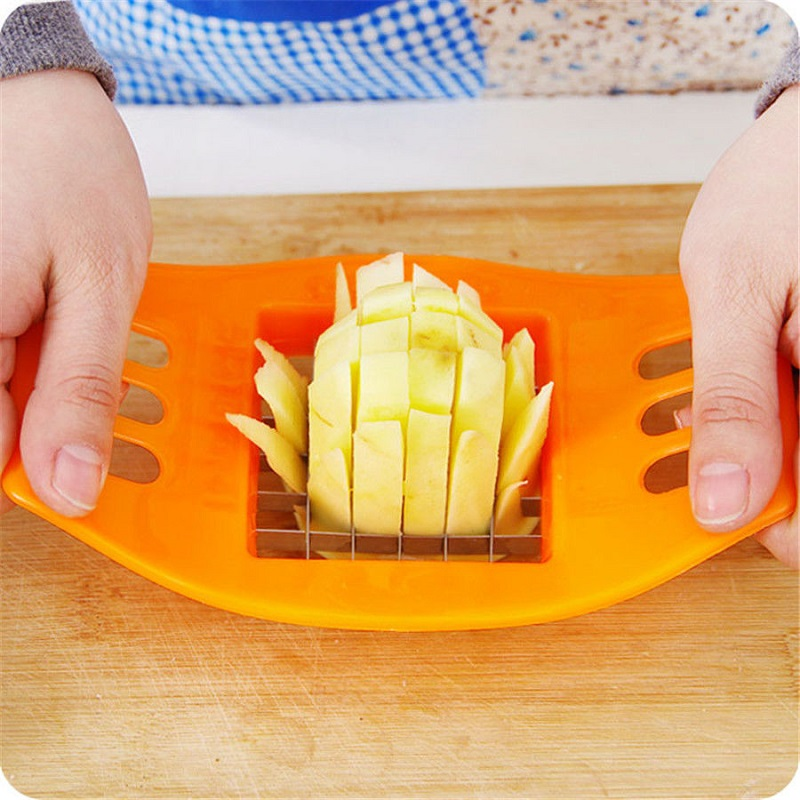 Potato Cutter Slicer Kitchen Accessaries Cooking Vegetable Tools Stainless Steel Slicing Chopper Tools For French Fries