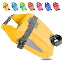 Сумка для велосипедного хвоста, седельная сумка, велосипедная MTB седельная задняя Сумка, велосипедная задняя водонепроницаемая сумка, светоотражающие трусики