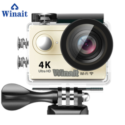 Winait 2017 cheap H9R sports camera with 30 meters waterproof wide angle 170 degeree 1050mah battery