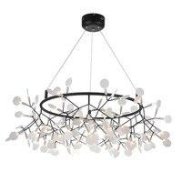 Современное искусство Дизайн Firefly G4 Люстры фары Кухня Магазин Бар черный подвесные светильники светодио дный блеск Luminaria светодио дный люст