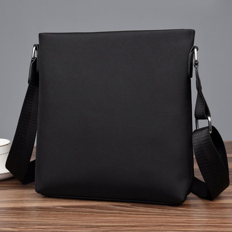 PURANI Oxford Mens Messenger Bags Versatile Male Business Casual Single Shoulder Bag Handbag Waterproof Solid Fesigner Satchels