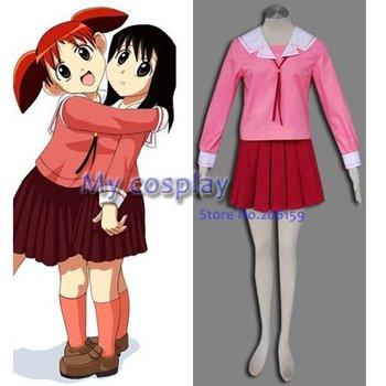Uniforme de escuela de invierno para niña Azumanga Daioh, disfraz de Cosplay,...