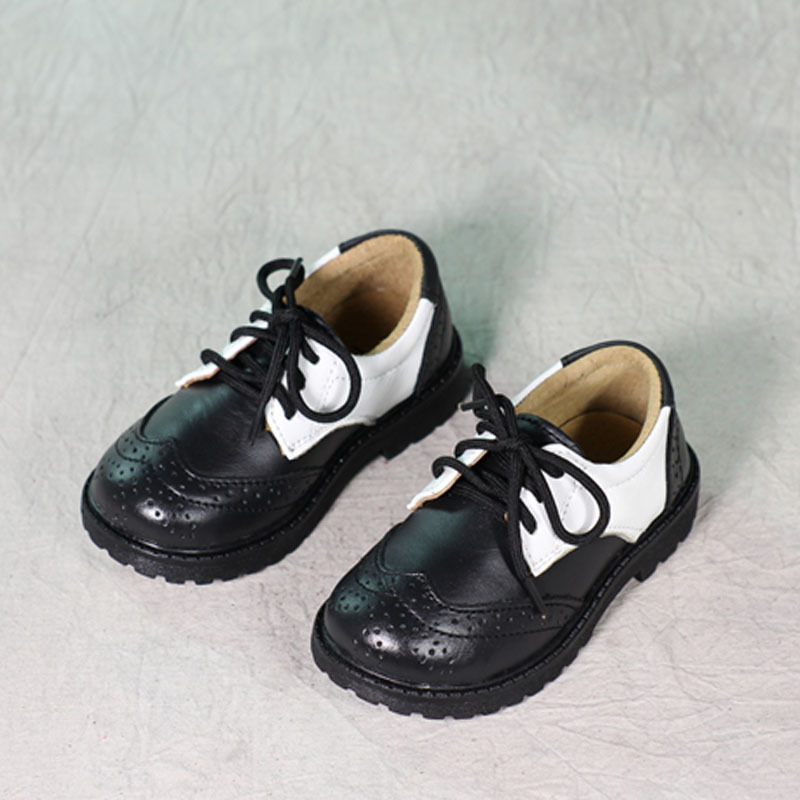 Осенне-весенняя новинка детские для мальчиков и девочек студентов обувь из натуральной кожи для взрослых и детей S обувь кожаная детская об...