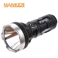 Manker MK35 Powerful LED Flashlight 1420M Thrower 2550 Lumens Cree XHP35 HI Searchlight Use 4x 18650 Batteries Torches