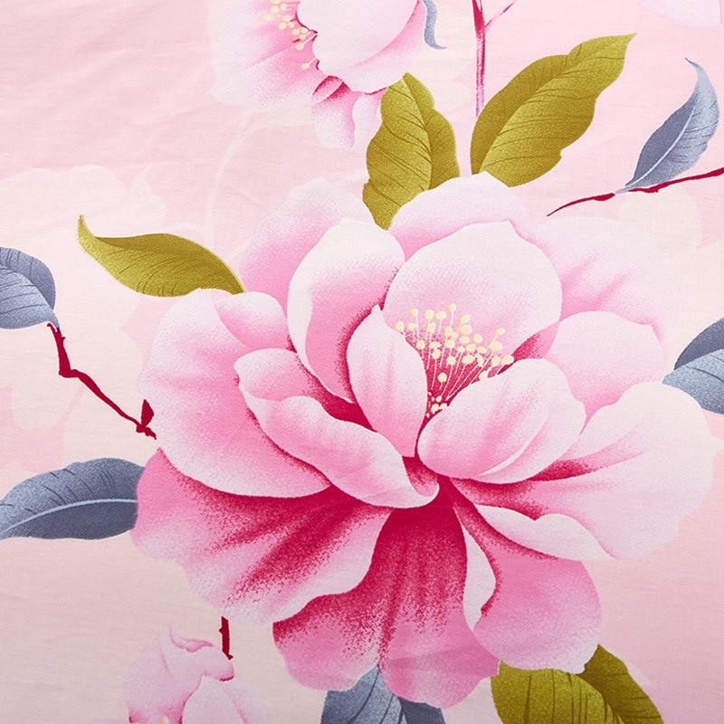 Oiseaux & fleurs ensemble de literie 2019 linge de lit fleur 4 pièces/ensemble 5 taille housse de couette ensemble pastorale ensemble de lit enfants/adulte literie literie - 4