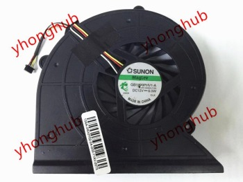 SUNON GB1209PHV1-A 13.V1.B4503.F.GN DC 12V 6.0W 4 wire Cooling Fan
