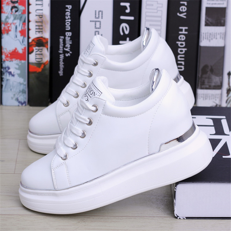 2020 Hidden Heels Women Platform Wedge Sneakers Ladies
