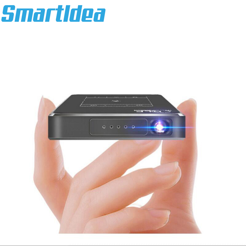 AC3 HD Projector 32G Android 7 1 2 Handheld DLP Smart Proyector 5000mAh Battery Bluetooth HDMI