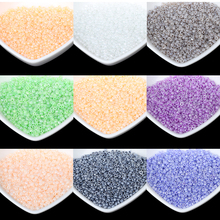 1000pcs/lot Candy Color DIY/Handmade Round Loose Spacer Glass Seed Beads for Jewelry Making Wholesale Free Shipping