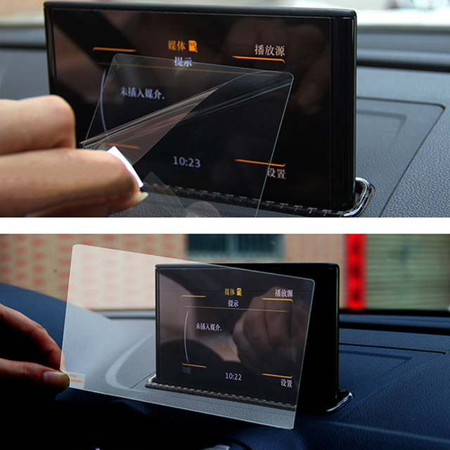 For Audi A3 8v 2013 2014 2015 2016 2017 2018 Gps Navigation Tempered