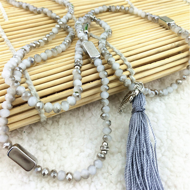 2015 Arrival Latest Design Fashion Necklace Soft Tassel Style Statement Necklace Women Sweater Accessories Necklaces & Pendants