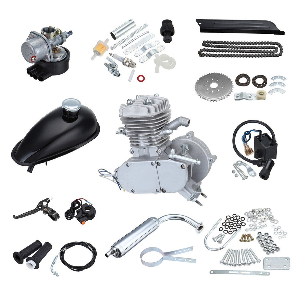 US Local Shipping! 2 Stoke Cycle 49cc 50cc Engine Kit Motorized Bicycle Bike petrol Motor Scooter сумка для инструмента jettools м 17