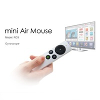 Measy RC9 Mini Handheld 2.4G Wireless Gyroscope Fly Air Mouse Remote Control for PC Android TV Box Smart TV!