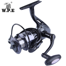 W.P.E ATENZA 9+1 Ball Bearing Spinning Fishing Wheel High Speed 8KG Max Drag Power Freshwater Carp Fishing Reel 2000-5000 Series цены