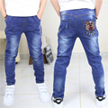2016 Toddler Boys Jeans Boys Age Kids Jeans Straight Legged Pants Child Pants Young Baby Student Tide Fille Toddler Boys Jeans